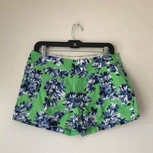 🥇3/$20 J Crew Factory Floral Chino Shorts